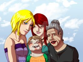 :Alma: Family Wallpaper by DreamGazer-NightAnge