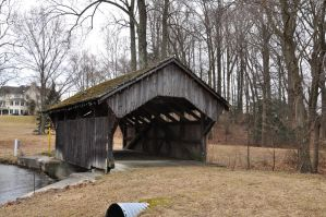 Covered Bridge Stock 7 by FairieGoodMother