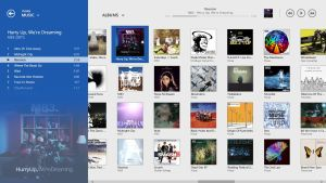 iTunes Modern UI - Music Albums View by wifun2012