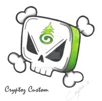 Squared Skull by CrYpToZ