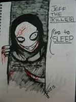 Jeff The Killer by pearlandfrog13