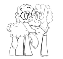 Sketch Trade  Curly Mane and Cheese Sandwich by ele-nah