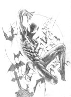Symbiote Spider-man by PJBhavsar
