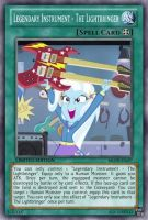 The Lightbringer (MLP): Yu-Gi-Oh! Card by PopPixieRex