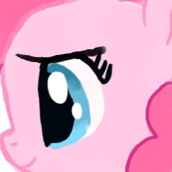 Animation:Pinkie doesn't want you to click this... by dragonpony