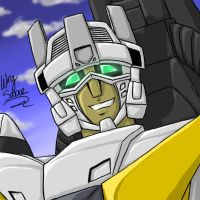 C Wingsaber - Grinnin' by Autobot-Windracer