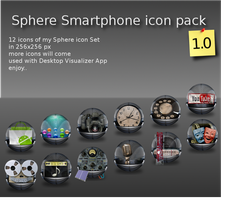 Sphere smartphone icon pack by Potzblitz7