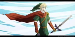 Caped Link by Lil-Muse