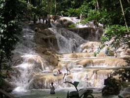 Dunns River Falls, Jamaica by AlanSmithers