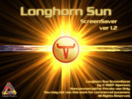 Longhorn Sun ScreenSaver by klen70