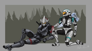 Spartans Resting by THE-WEATHERED-RAVEN