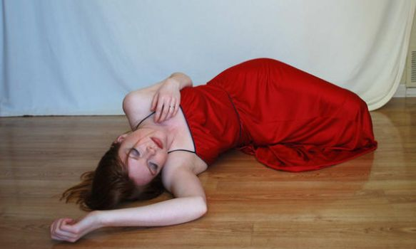 Red Dress Stock 3 by chamberstock