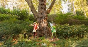 Tinkerbell and Terrence by ShuxxCosplay