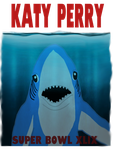 Super Bowl XLIX - Left Shark by AllysonCarver