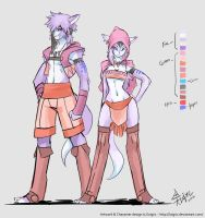 AT: Race Concept/Ref Sheet by luigiix