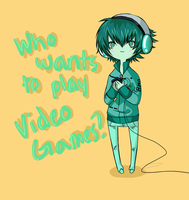 Who Wants to Play VIDEO GAMES?? by mayday-daywalker