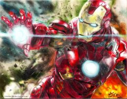 I Am Iron Man. by Astaldo-Fea