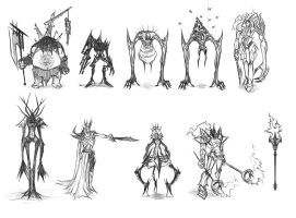 Character Thumbnails - 1 by Dhex