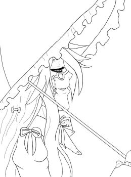 Grell Sutcliff Lineart by sonani