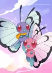 Butterfree duo Poster by destinal