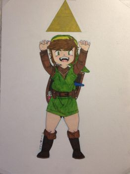 You're the Hero of Hyrule  by jbacon421