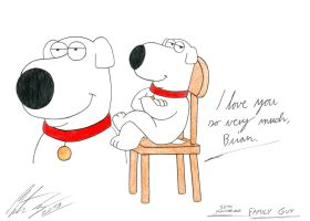 Family Guy - My tribute to Brian Griffin by MortenEng21