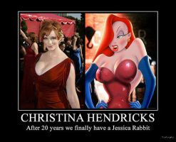 The Real Jessica Rabbit by trejackt
