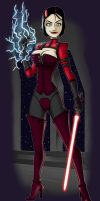 Kat Sith Commission by IAMARG