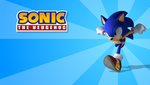 Sonic Wallpaper - the first by Drewdini