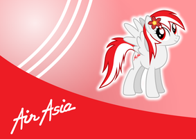 AirAsia Pony by BlueVisionPony
