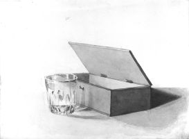 Beatrix Potter Still Life Perspective drawing by eaglespare