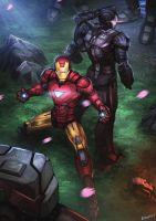 Iron Man 2 Fan Art by Gubrutsky2011