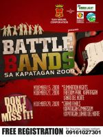 battle of the bands poster by capiogwapo