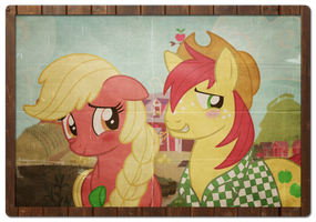 Apple Parents: Remember Me -Old Photo Version- by LugiaAngel