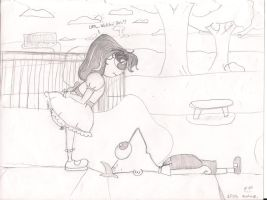 Isabella Meets Phineas by MissyMeghan3