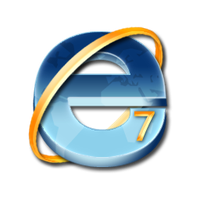 ie7 dock icon by dozy-de