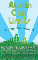 Austin City Limits Poster by Bobman32x