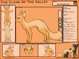 .: TcotV :. Quickplaines Ref sheet example by TheClansOf-TheValley