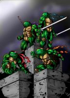 tmnt final work by marshall048
