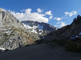 Tioga Pass Road II by Synaptica