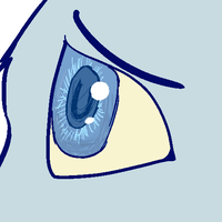 bluestars eye from my COOL new pmv by ThePaintedSunrise