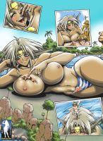 Outlaw Star Giantess by giantess-fan-comics