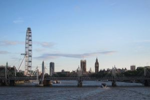 LONDON - Thames view by elodie50a