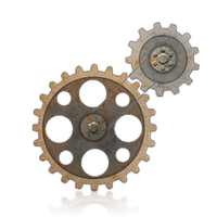 Steampunk Gear PNG by KarahRobinson-Art