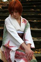 Kimono in Fall by urban-photos