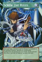 Yugioh! Orica: Screw the Rules Magic Card by animereviewguy