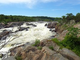 Great Falls of the Potomac 57 by Dracoart-Stock
