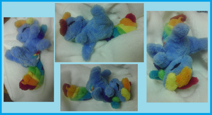 Interactive - animatronic Rainbow Dash plush by Busoni