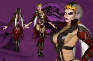 MKD Sindel Alternate by UndeadMentor