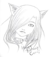 Happy Birthday Cat by IcyKitty